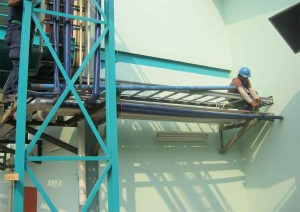 Instalasi Pompa Booster 6000 ltr ke Gedung Existing